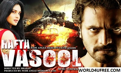 Hafta Vasool 2015 Hindi Dubbed WEBRip 450mb