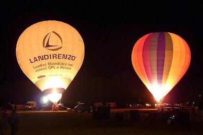night glow Ferrara Balloons festival