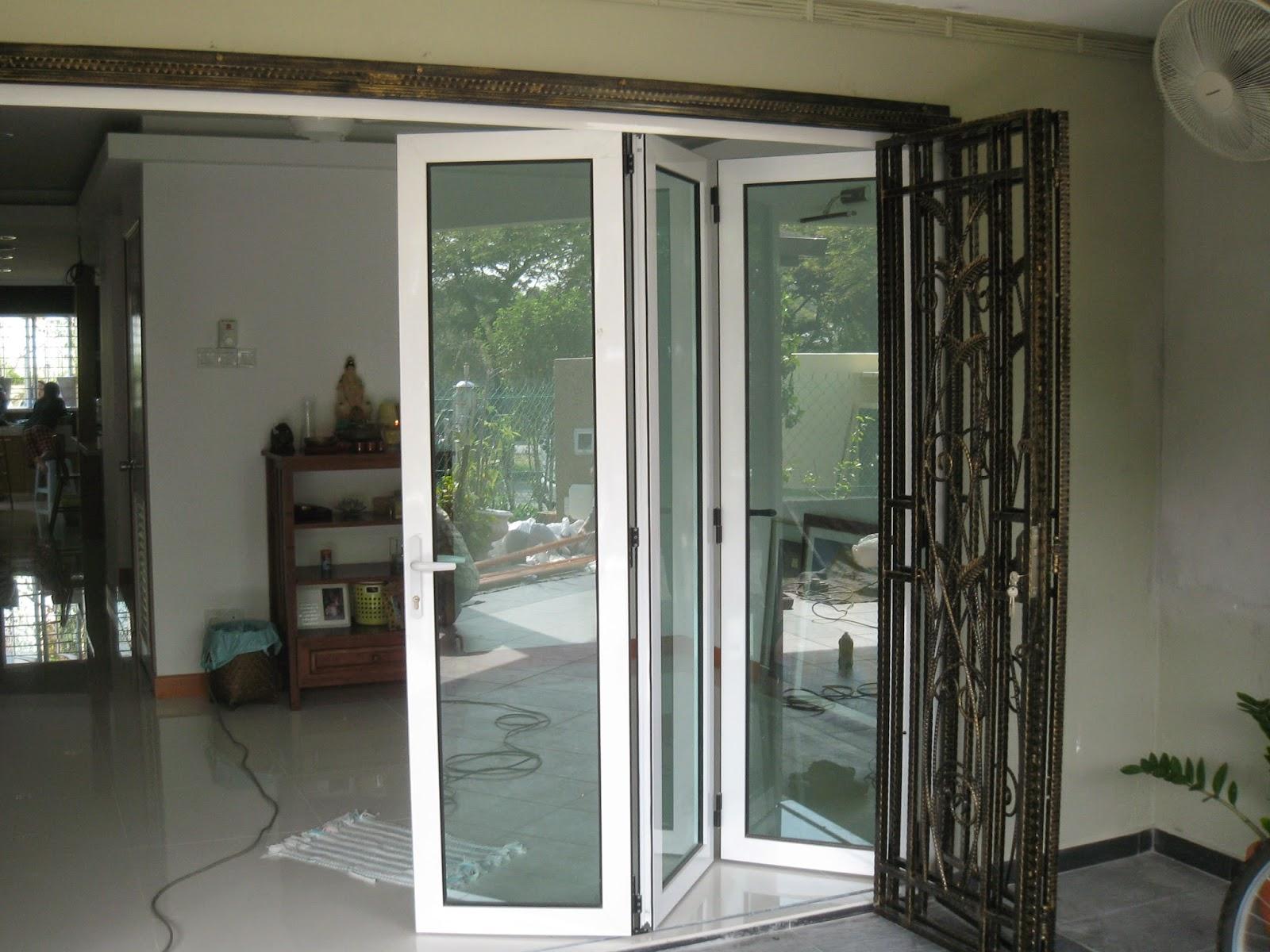 Folding Door Malaysia: Aluminium Folding Door