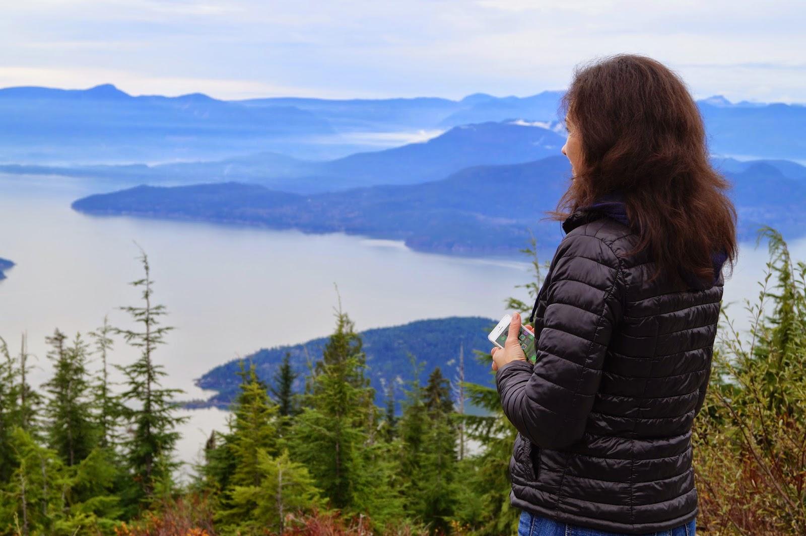 Вид на Howe Sound с Cypress