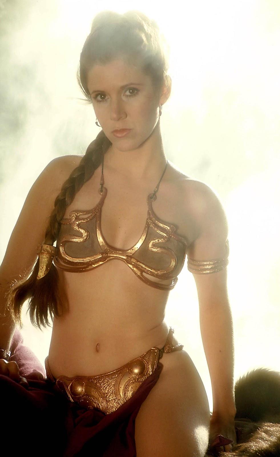 Carrie Fisher as Princess Leia Organa - Hot Celebrities