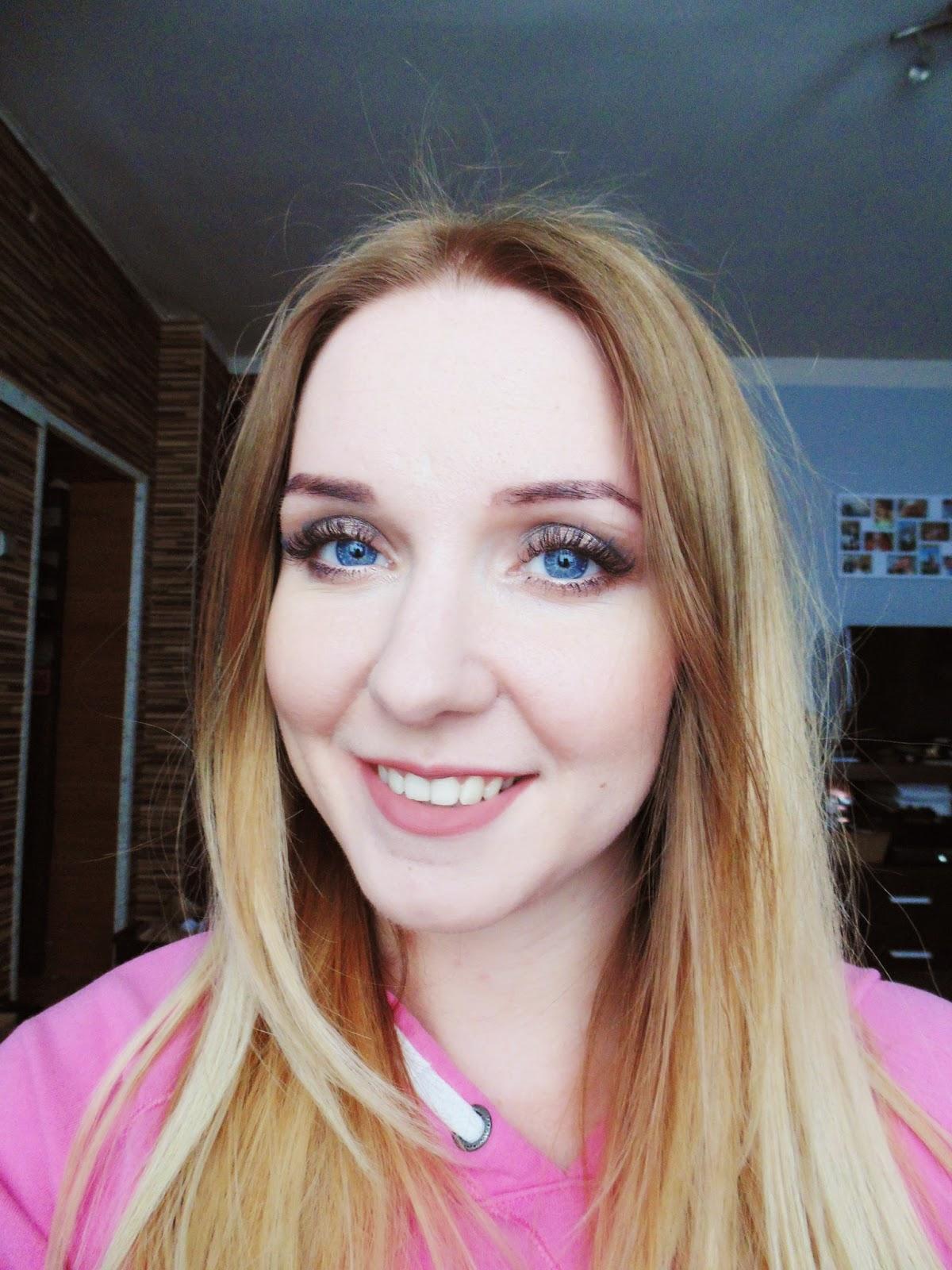 Makijaż ślubny- enta próba