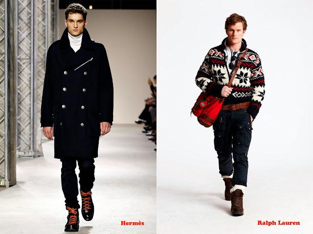 Tendencia otoño_invierno 2013-14 Look alpinista: Hermès y Ralph Lauren