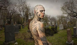 Extreme Tattoo Design - Full Body Tattoos