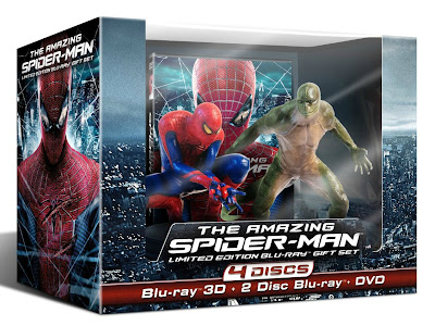 The Amazing Spider-Man, Blu-ray,movies,film,Spiderman,Capes on Film,superheroes