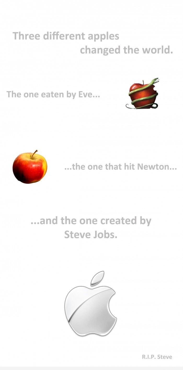 Three Apples That Changed The World - Steve jobs
