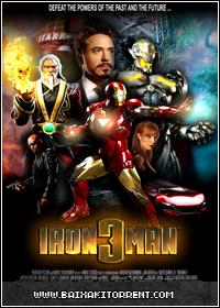 Capa Baixar Filme Homem de Ferro 3 Dublado RMVB   AVI Dual Áudio + R6 Baixaki Download