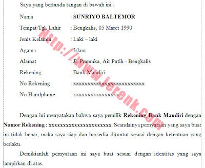 53 kB · jpeg, Contoh Surat Pernyataan Blog Remaja Indonesia Gen22net