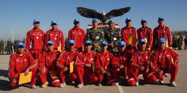 14 pelari dari tentara nasional indonesia - militer indonesia