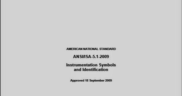 Trash Book Isa 51 2009 Instrumentation Symbols And Identification