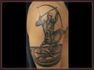 Zodiak Tattoos Gallery - Sagitarius Tattoo
