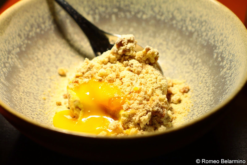 KOKA Caramel, Egg Yolk, and Buckwheat Gothenburg Michelin Star Restaurant