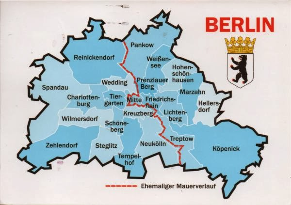 Berlin map of germany
