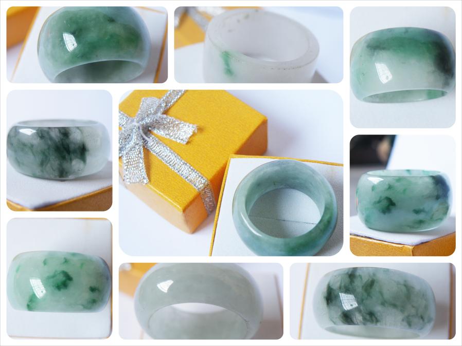 Nhẫn cẩm thạch