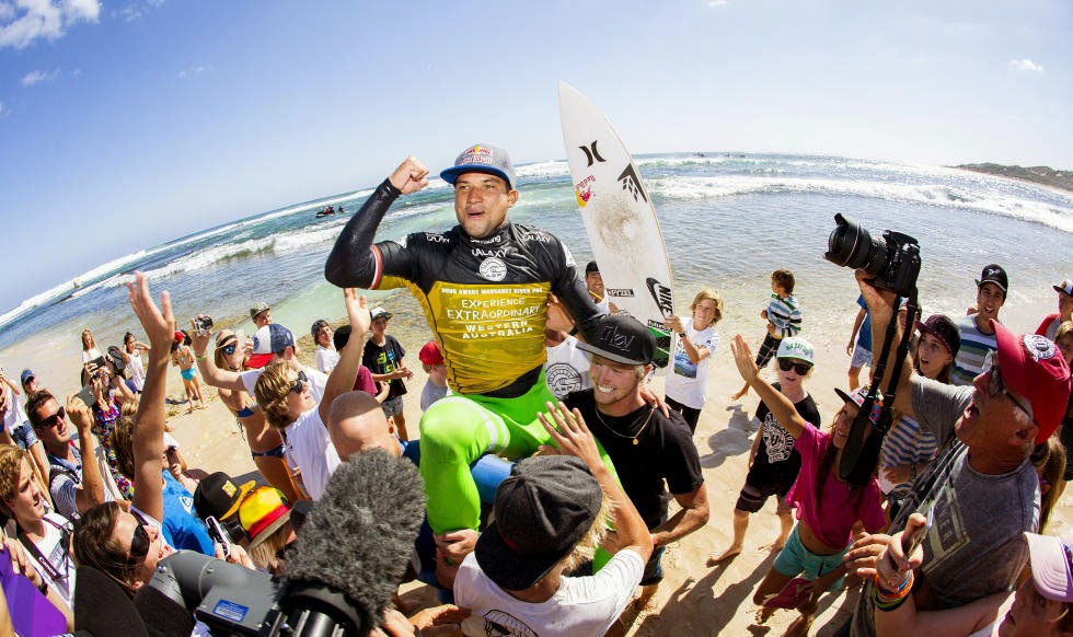 Foto ASP Kirstin Scholtz Drug Aware Margaret River Pro michel bourez