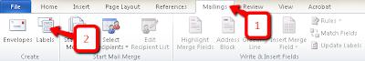 Cara Mudah Membuat Label di Microsoft Word 2010