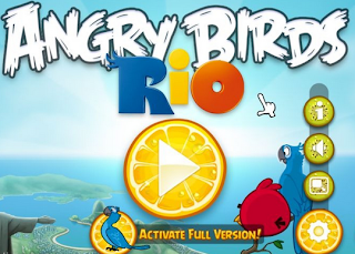 Free Download Angry Birds Rio For PC Terbaru