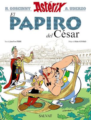COMIC - Asterix . El papiro del César    René Goscinny (Autor/a), Albert Uderzo (Ilustrador/a)  Jean-Yves Ferri (Autor/a), Didier Conrad (Ilustrador/a)  (Editorial Bruño - 22 octubre 2015)  Comprar en Amazon España