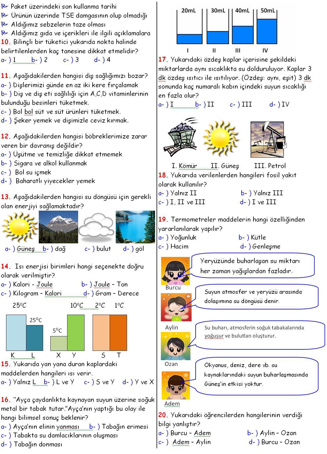 Sinif fen ve teknoloji dersi 1 donem 2 yazili sorulari 02 jpg