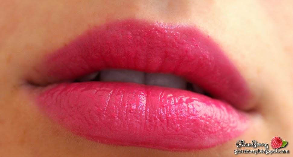 bourjois fuschia libre lip swatch lipstick chubby crayon
