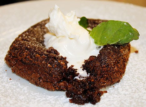 easy chocolate lava cake
