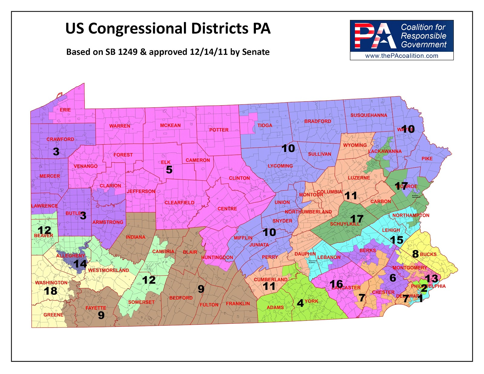 The Federalist Pennsylvania CongressionalBased Electoral College - Us house district 13 map
