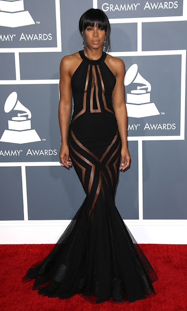 Kelly Rowland Grammys 2013 outfit