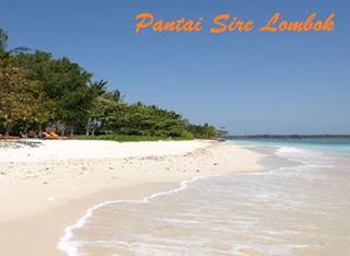 pantai sire lombok utara
