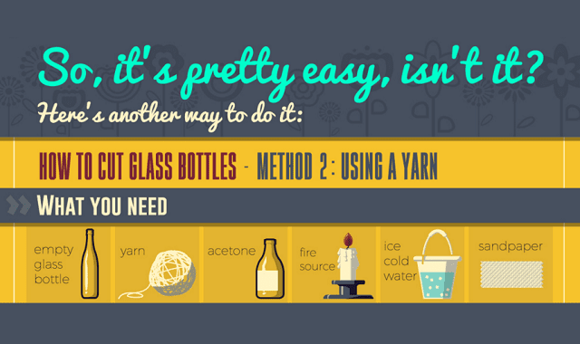 Smart Guide on How to Cut Bottles and Craft With Glass Recipients