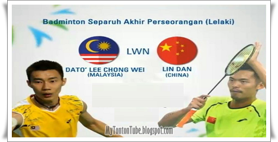 Video Chong Wei Vs Lin Dan - Badminton Terbuka China 2015