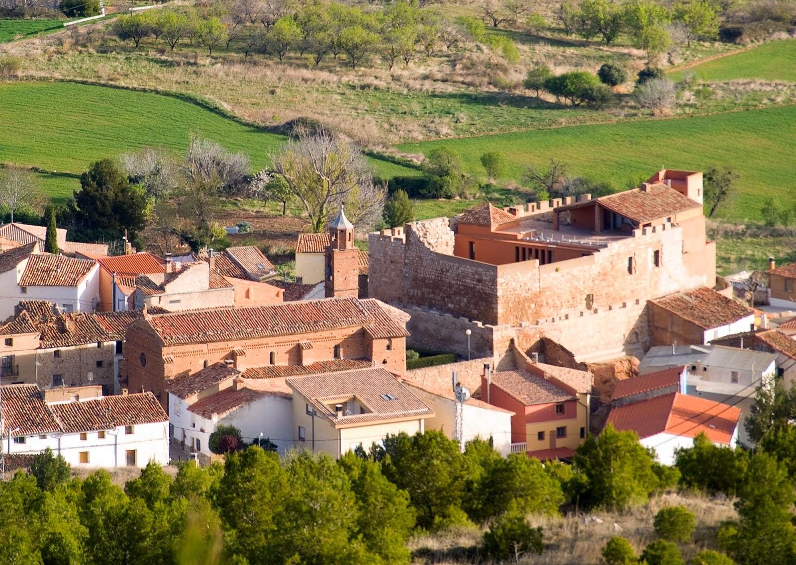 Castillo desde La Diezma