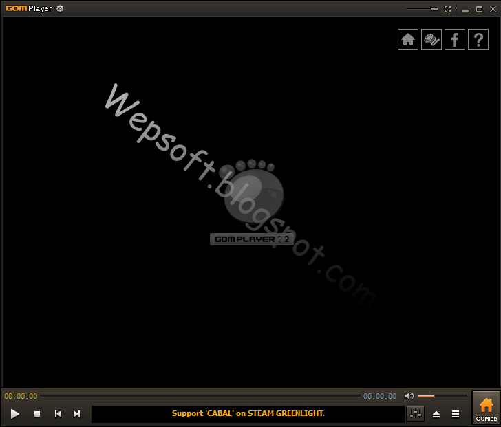 Gom Player - Wepsoft.blogspot.com