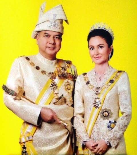 Stem dan Sampul Surat Hari Pertama Sempena Istiadat Pertabalan Paduka Seri Sultan Perak Darul Ridzuan