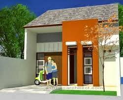 Desain rumah minimalis tampak dalam