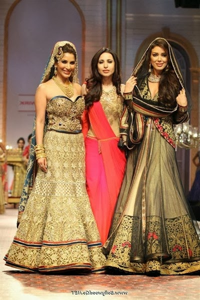 Sophie Choudry British film actress Images in a Fashion Show