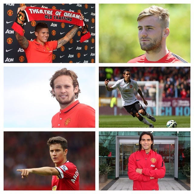 Manchester United Welcomes Six New Signings