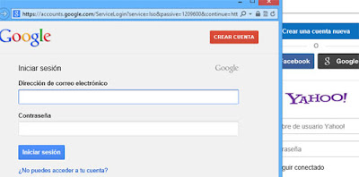 iniciar sesion yahoo gmail