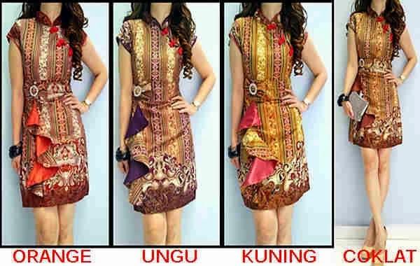 Foto Baju Batik Nana Karlina