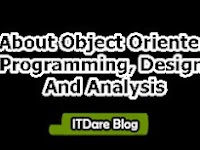 Definition About Object Oriented Programming, Design, and Analysis