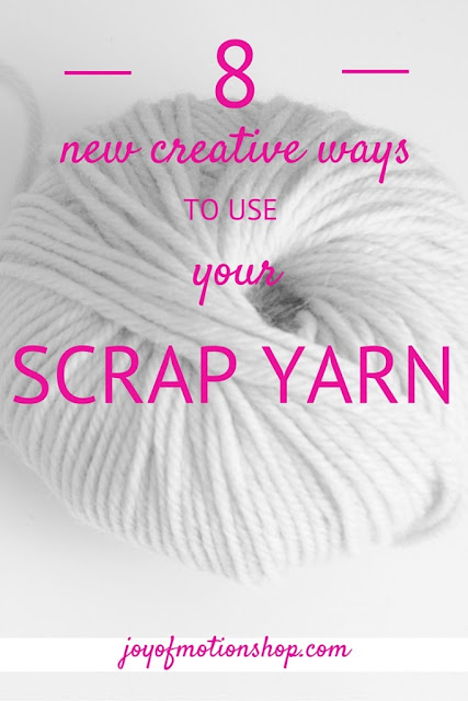 8 Creative Ways to use your Scrap Yarn