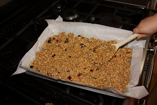 flapjacks waiting to be cooked