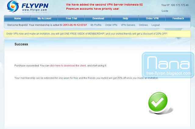 flyvpn facebook 啟動碼06