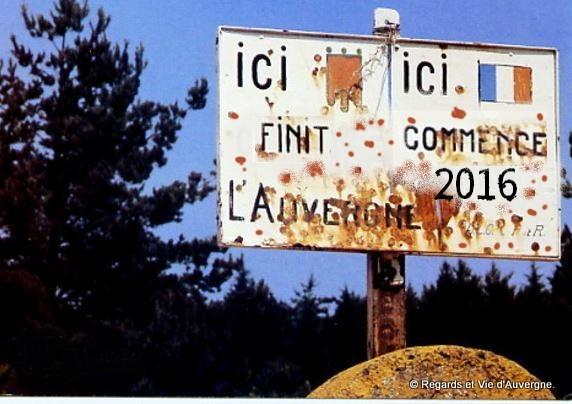 Ici finit l'Auvergne
