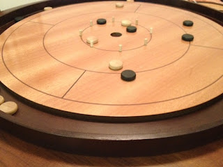 mid round of Crokinole