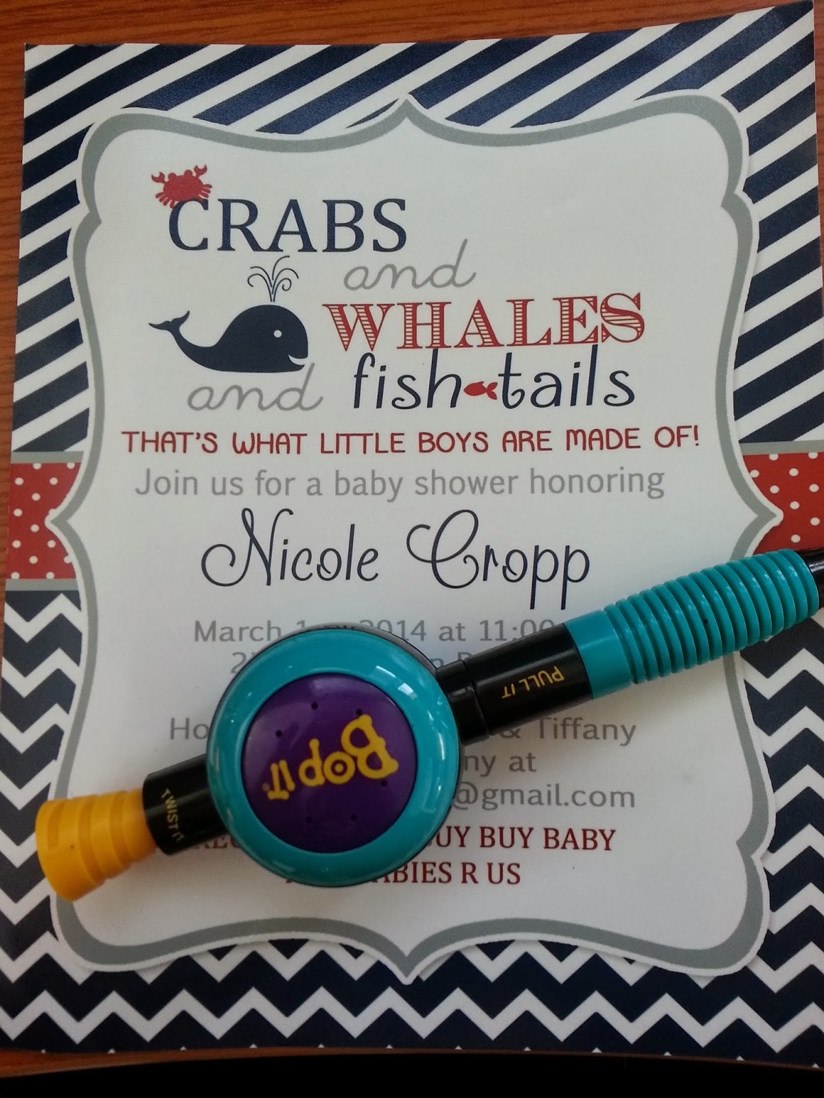 Fishing Themed Baby Shower
