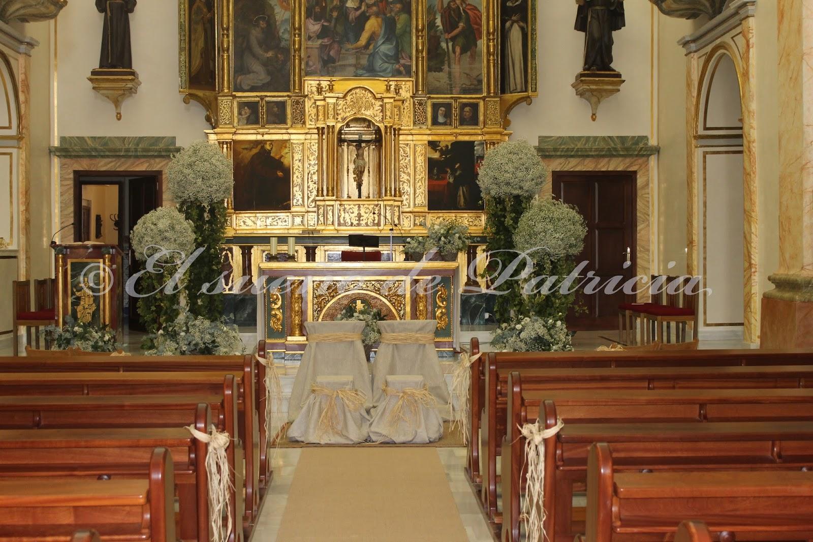 Decoracion Iglesia Boda Vintage ~ Una boda en casa  una boda en el campo  El sue?o de Patricia