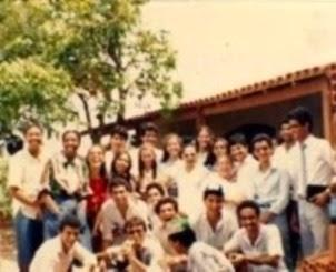 Ceifeiros da Última Hora em festa de confraternização - 1983