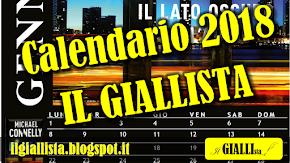 Scarica gratuitamente il Calendario 2018 de IL GIALLISTA