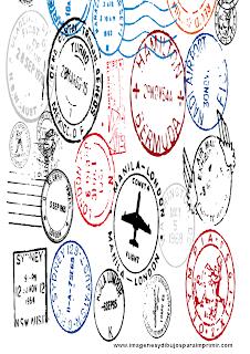 Dibujos de sellos para imprimir