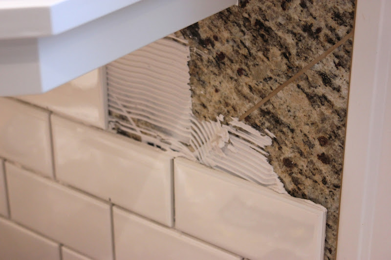 Will break d i y rules for subway tile forever cottage - Forever tile and stone ...